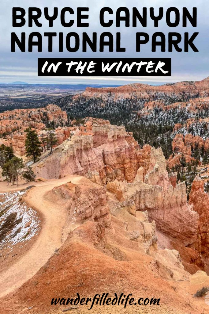 Tips for enjoying the hoodoos of Bryce Canyon in December. With fewer crowds and snow-covered red rock, a winter visit can be magical.
