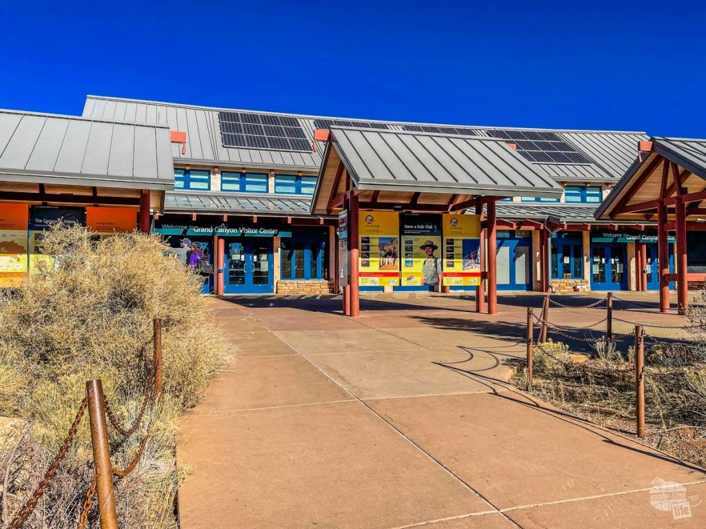 The main Visitor Center for the Grand Canyon.