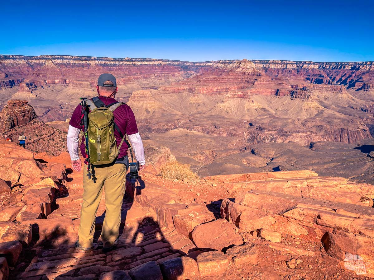 The Grand Canyon in winter generally offers cool temperatures.