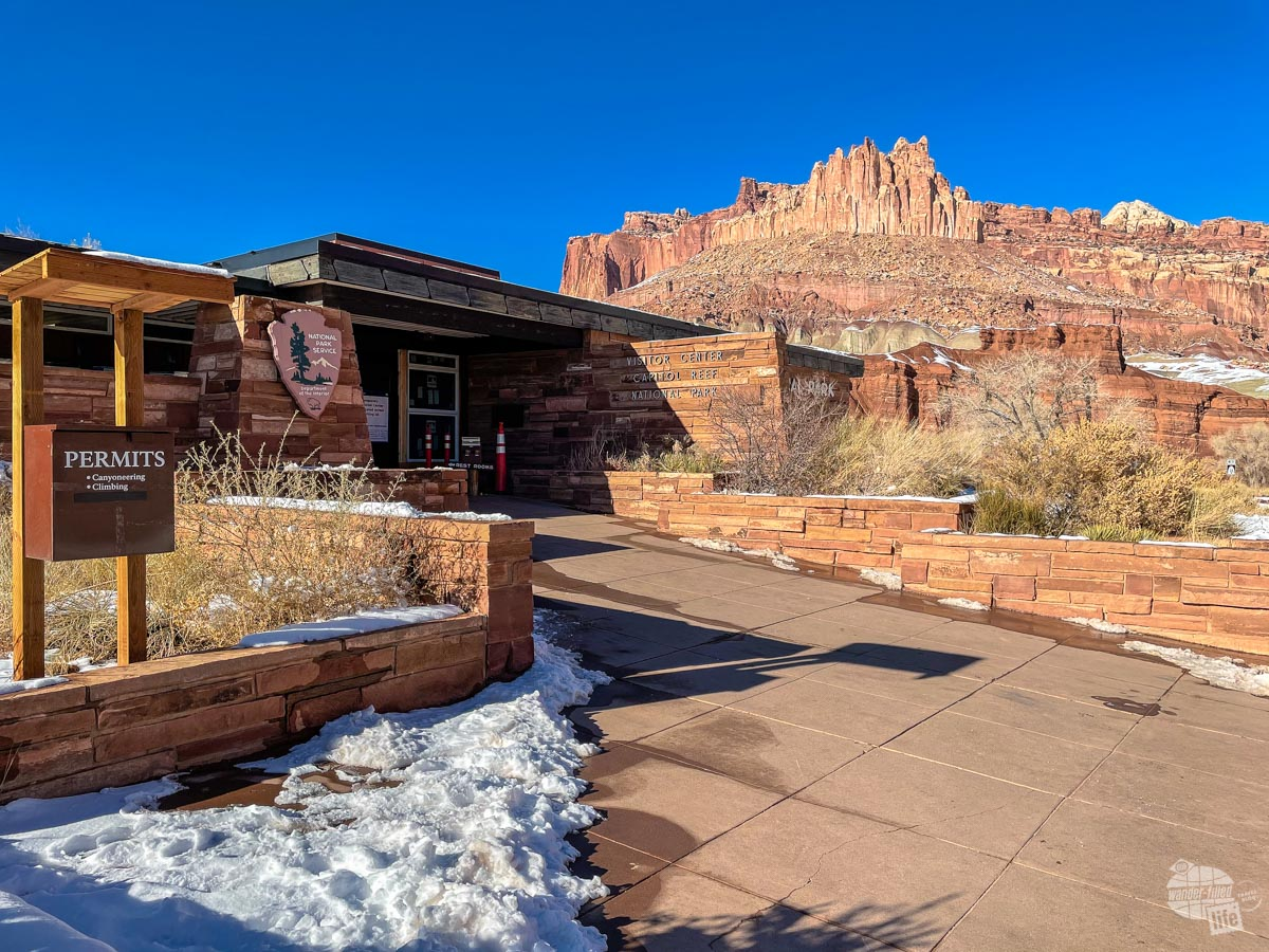 Capitol Reef National Park Visitor Center