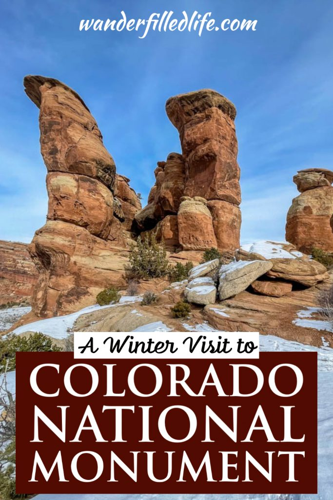 Just minutes from I-70, Colorado National Monument is home to a nice scenic drive with plenty of great views and several hiking trails.