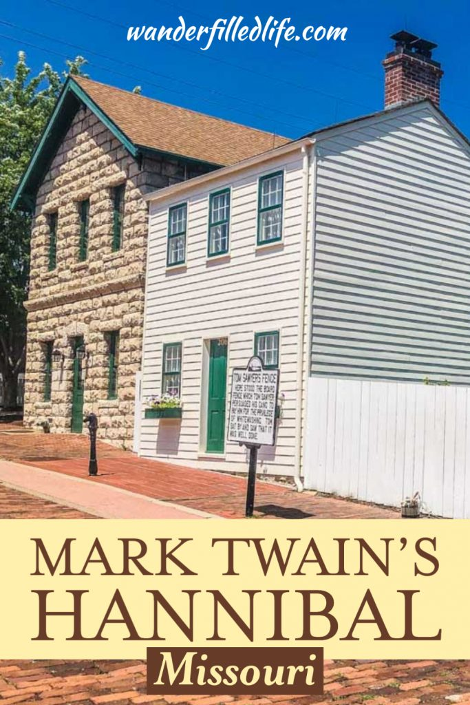 Hannibal, MO is the perfect stop for any Mark Twain fans out there. Mark Twain's Hannibal has embraced the author and told his story well.