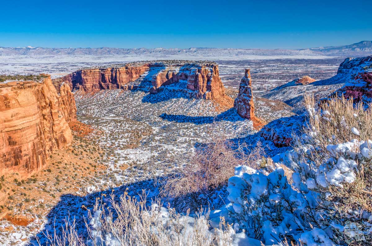 Independence Monument is just one of many great landscapes at Colorado National Monument.