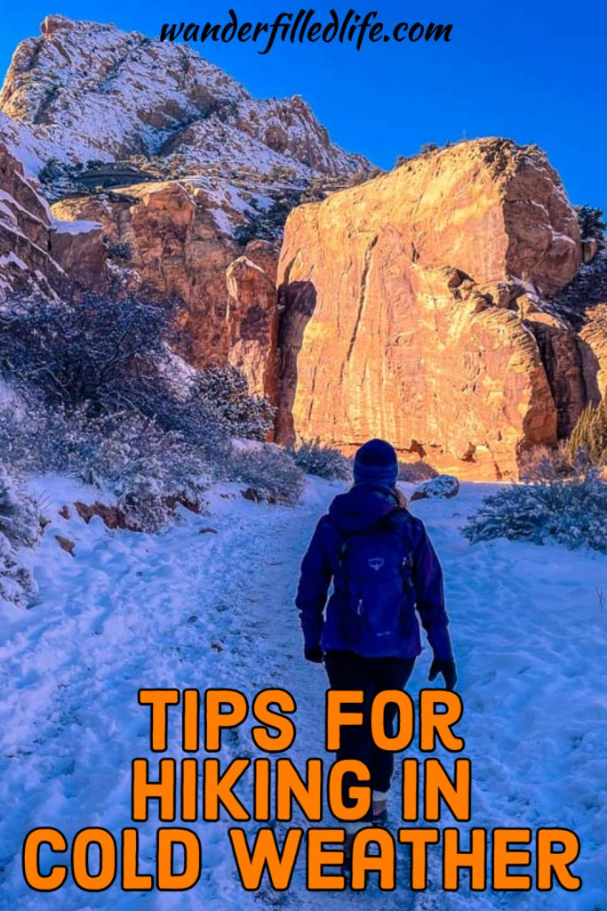 Hiking in cold weather can be one of the most rewarding activities, offering views coated in snow but it requires a lot of preparation.