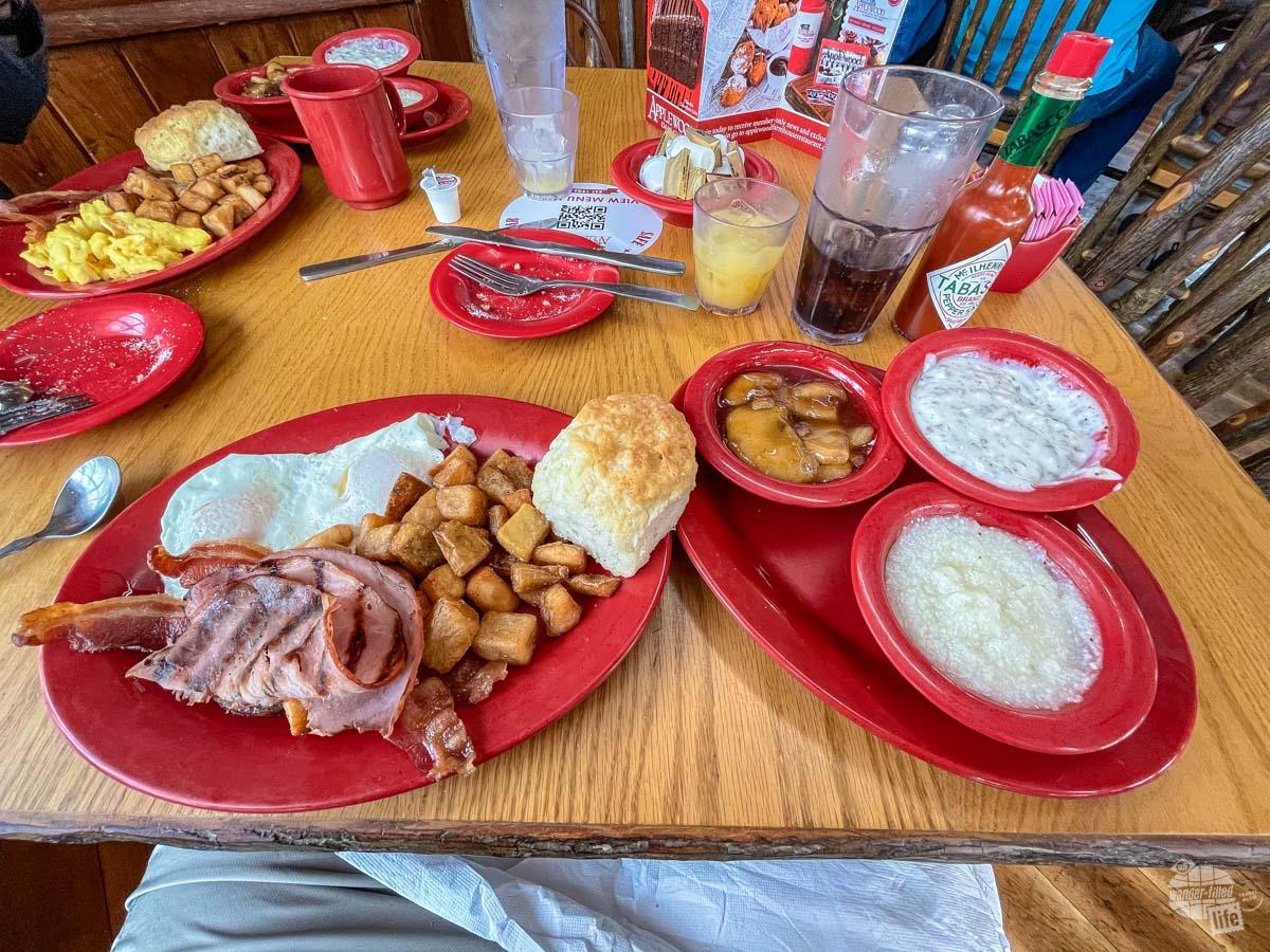 Breakfast at the Applewood Farmhouse Restaurant