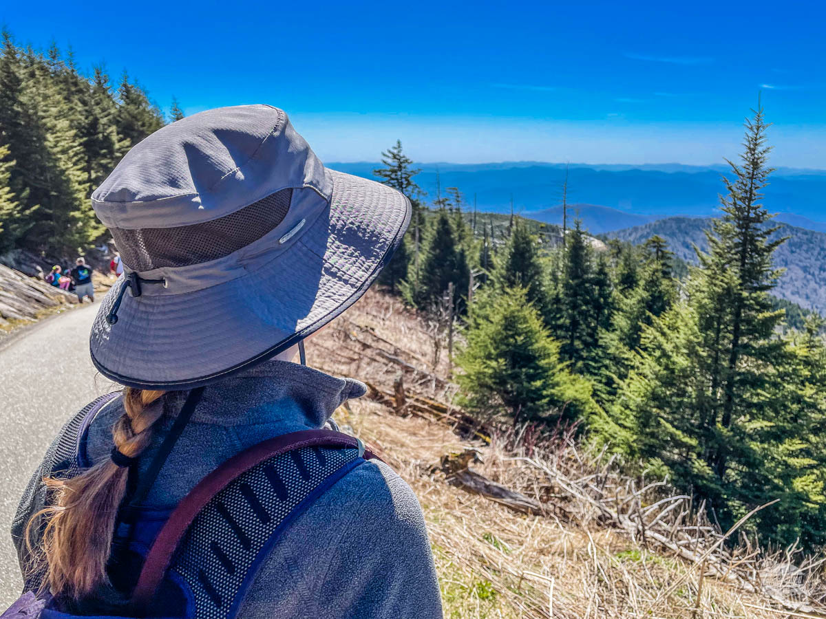Clingmans Dome Trail in Great Smoky Mountains NP