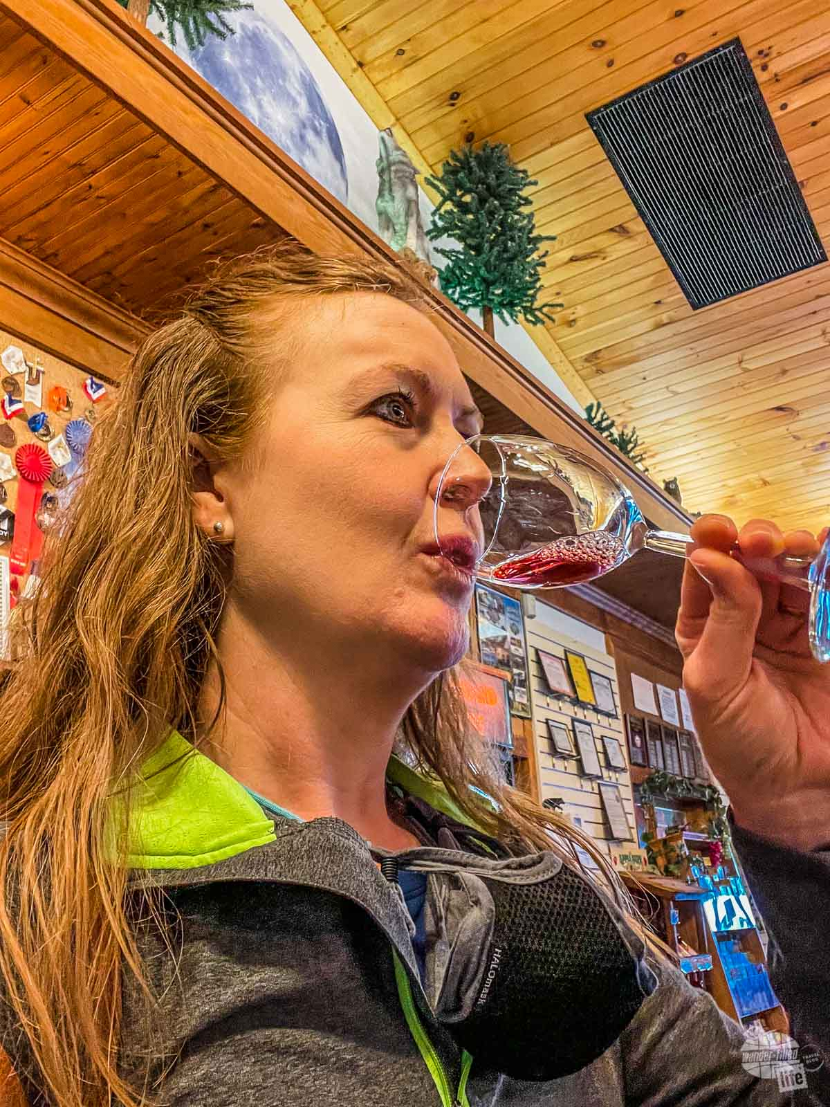 Apple Wine at the Apple Barn and Cider Mill