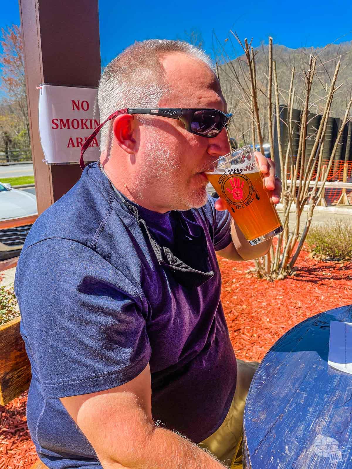 Native Brews in Cherokee, NC