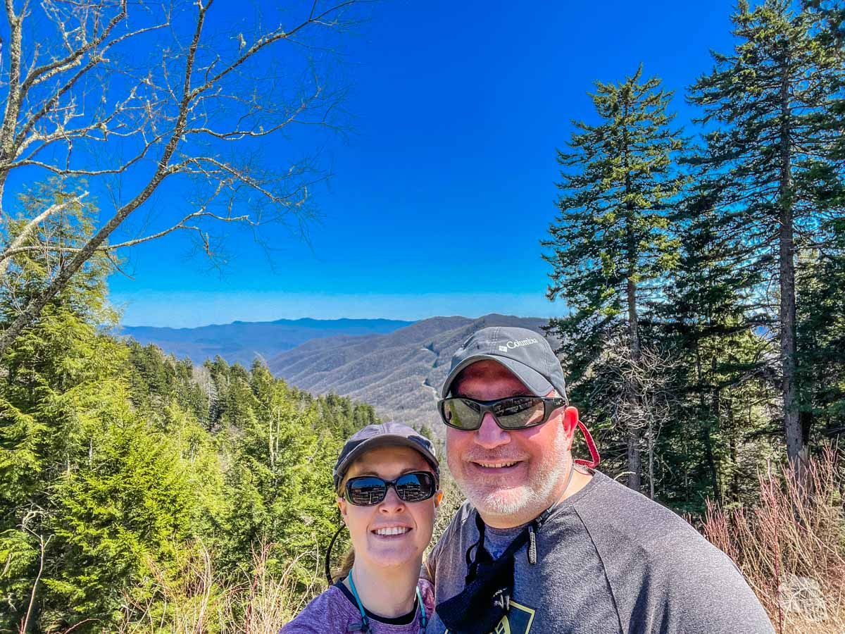 Bonnie and Grant at Newfound Gap