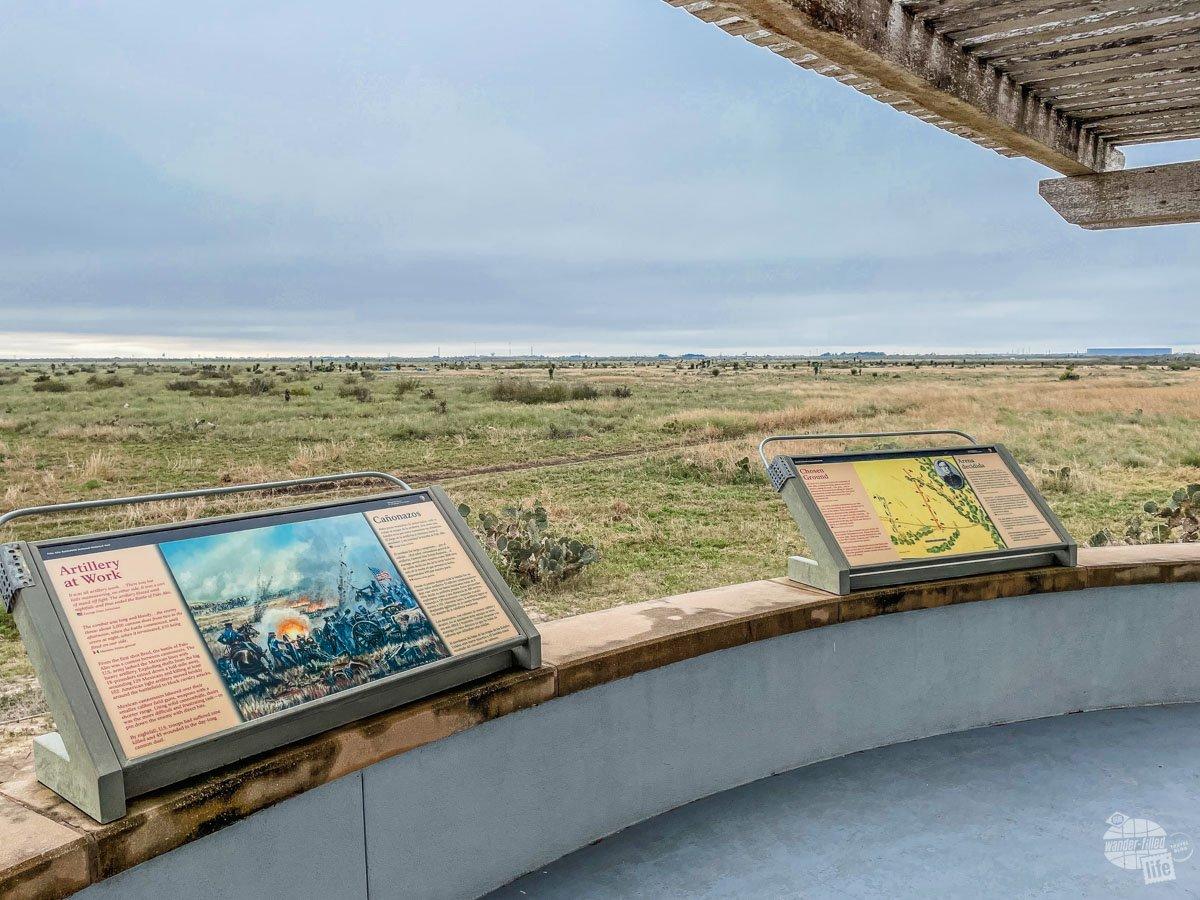 The overlook at Palo Alto Battlefield.