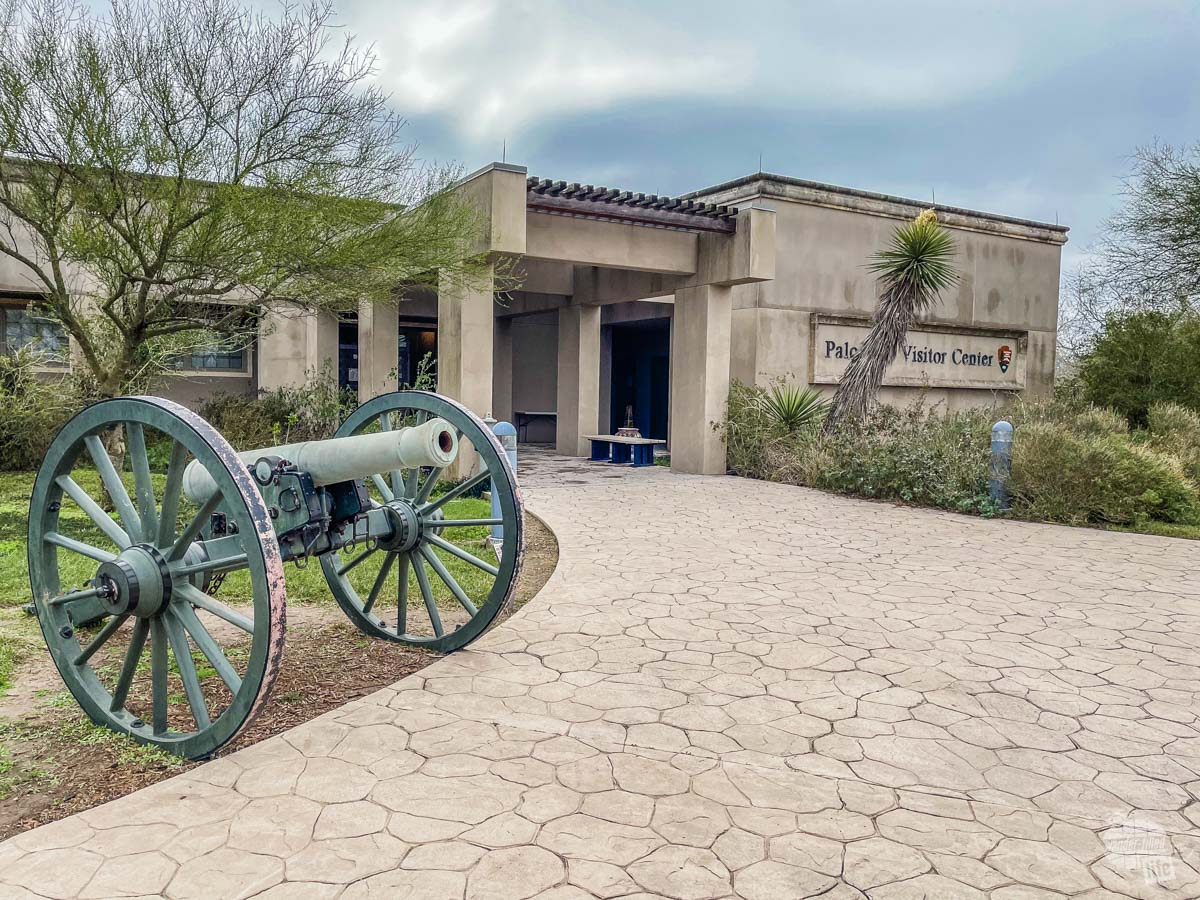 The visitor center at Palo Alto Battlefield National Historical Park