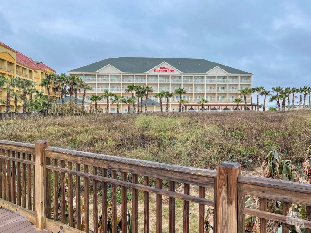 The Hilton Garden Inn on South Padre Island