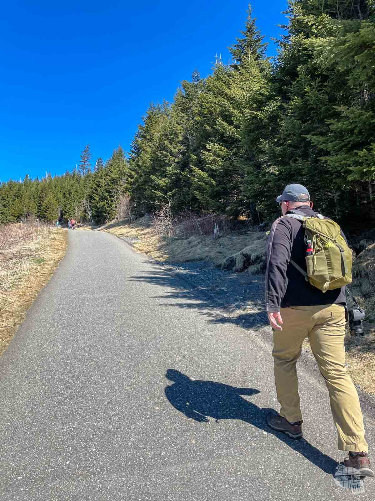 The Clingmans Dome Trails is definitely a must of the Great Smoky Mountain National Parks hikes.