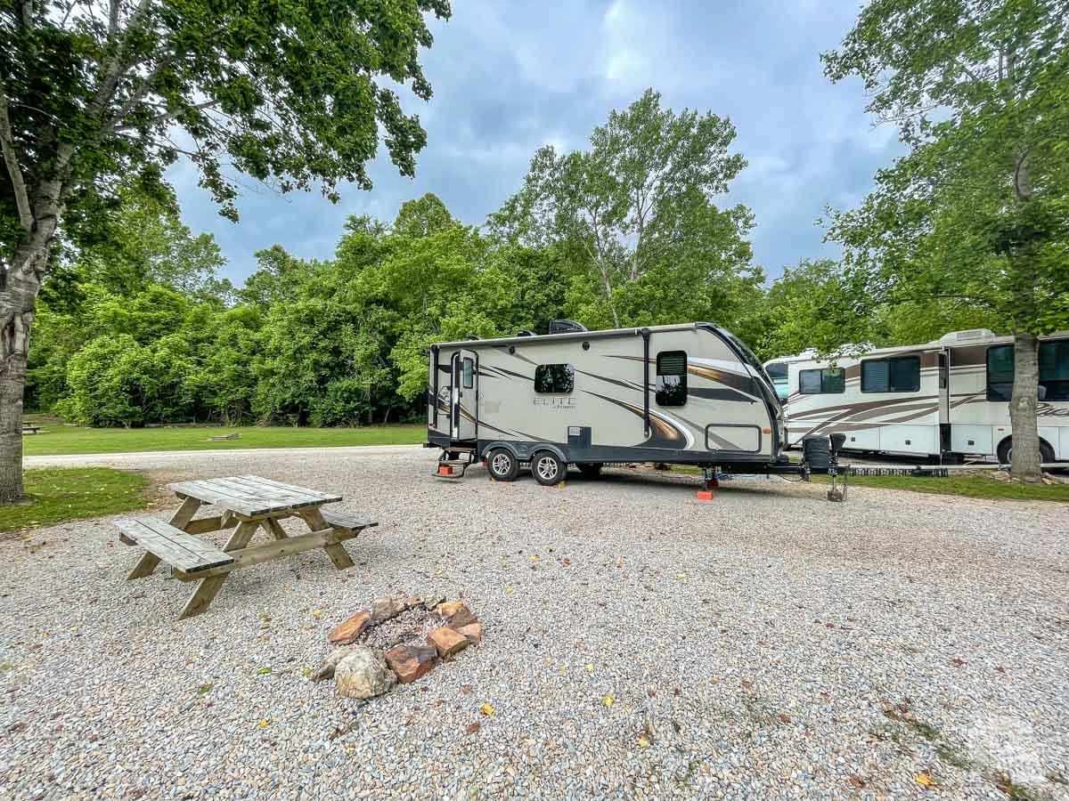 Big Spring RV Camp in Van Buren, MO.