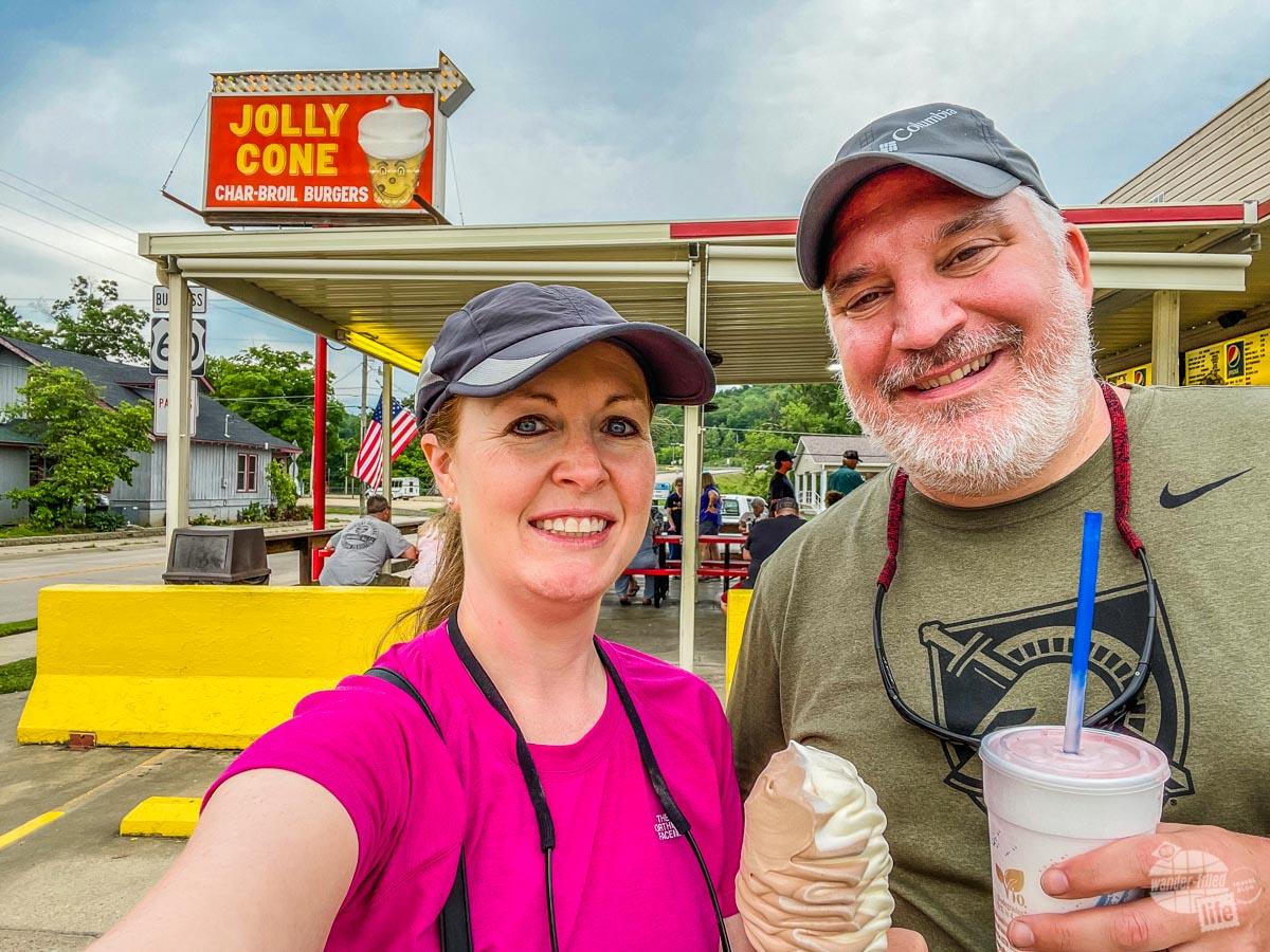 Jolly Cone in Van Buren, MO.