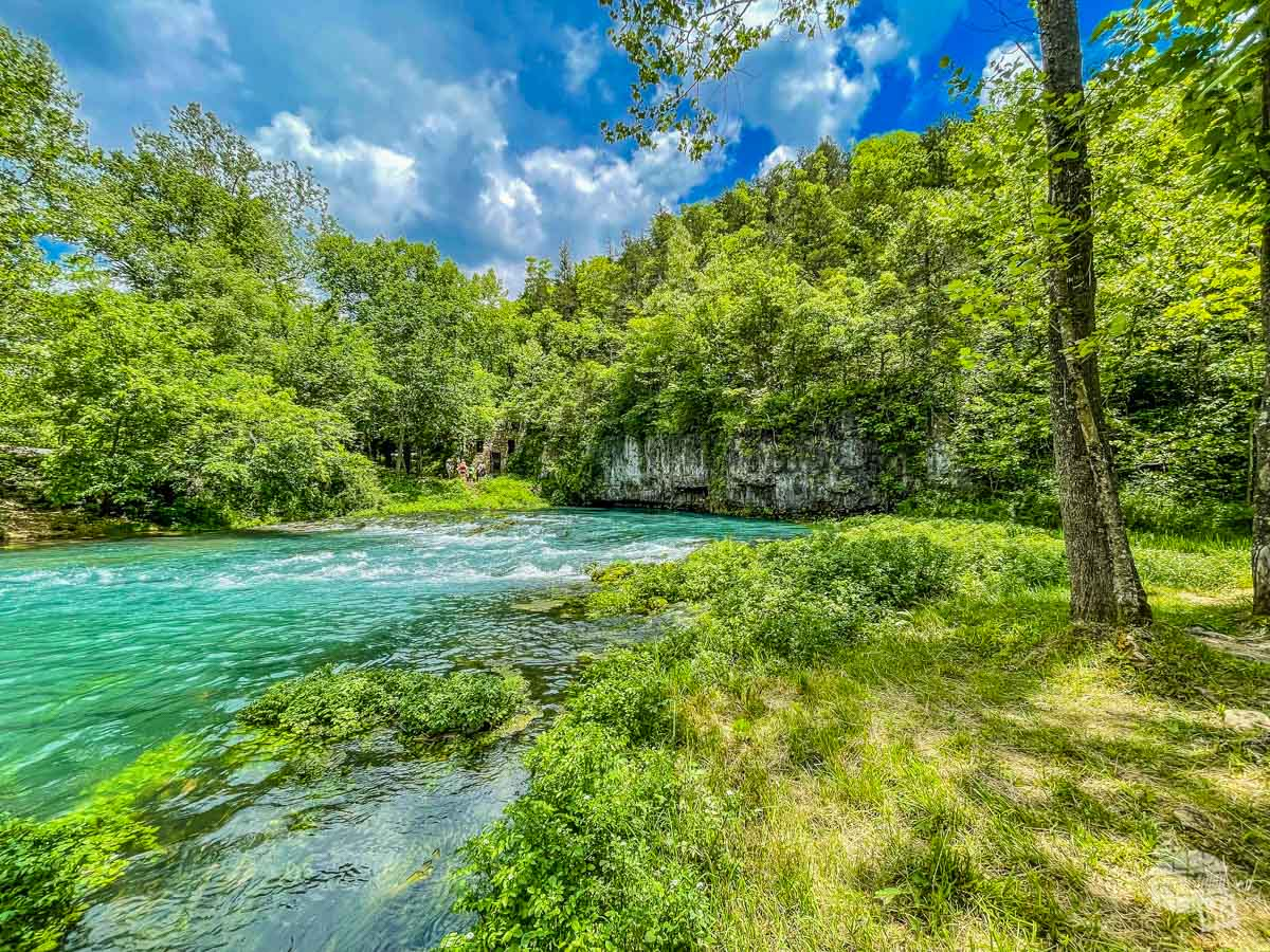 Welch Spring at Ozark National Scenic Riverways.
