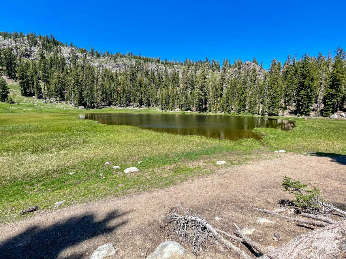 Cold Boiling Lake at Lassen Volcanic National Park