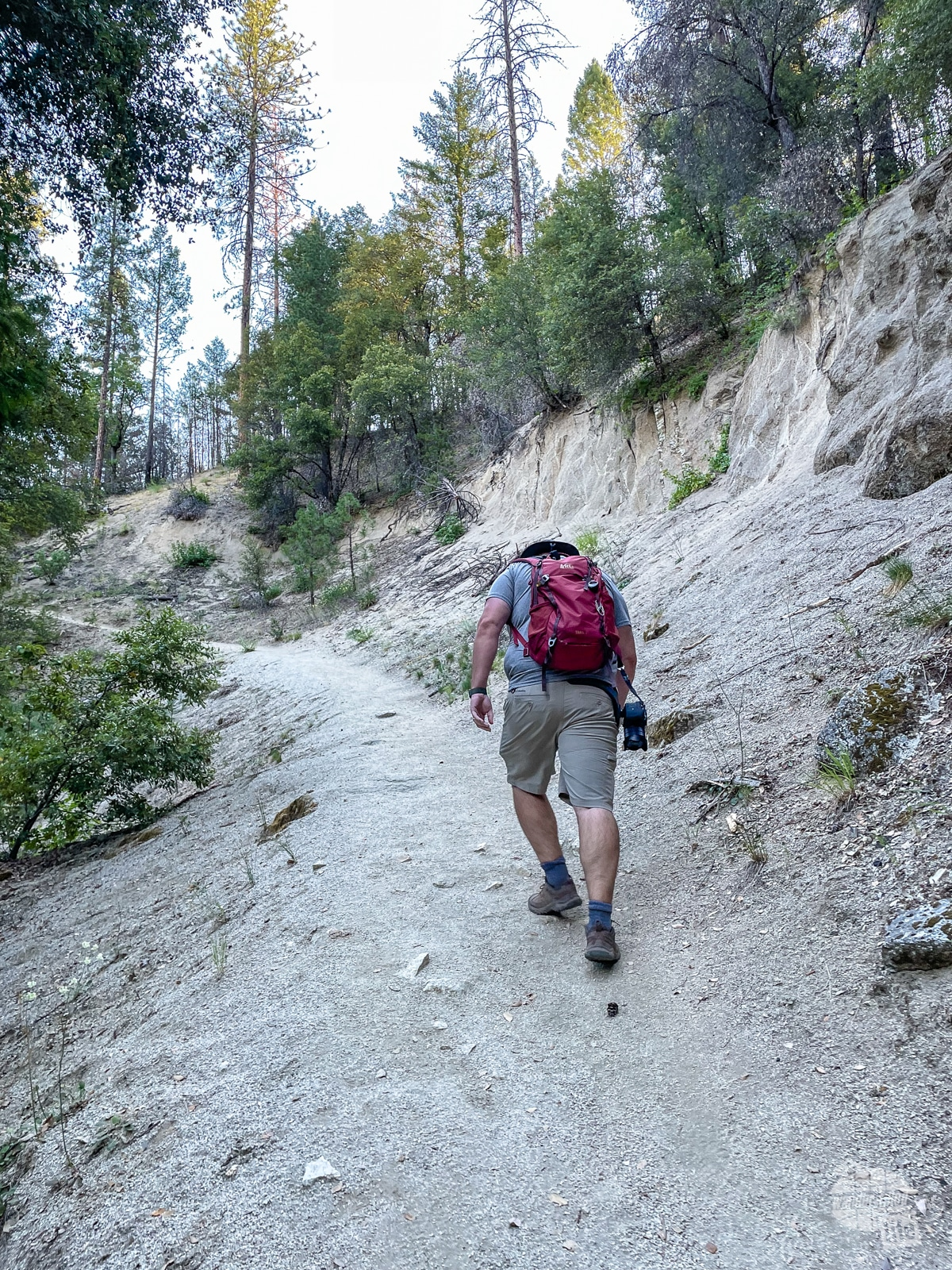 Hiking at Whiskeytown National Recreation Area