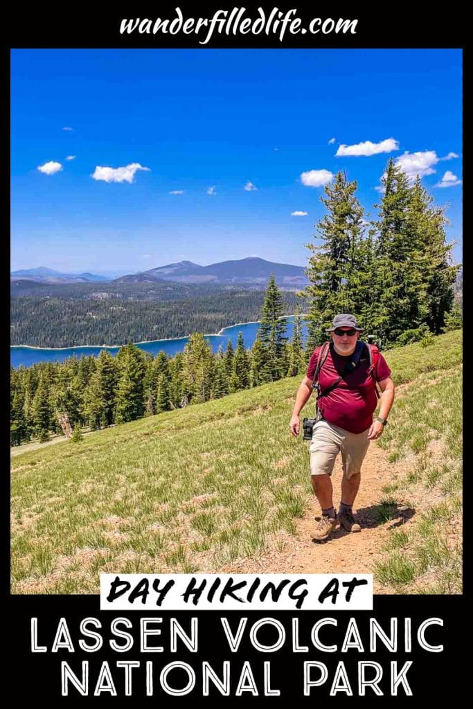 Day hiking in Lassen Volcanic National Park is one of the best ways to explore this landscape with soaring peaks and geological wonders.