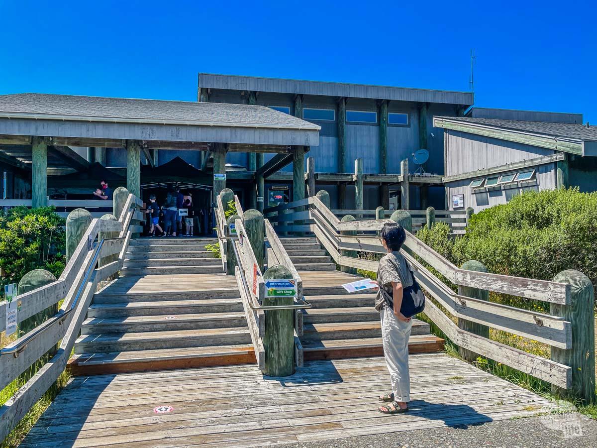 Kuchel Visitor Center at Redwood National Park.