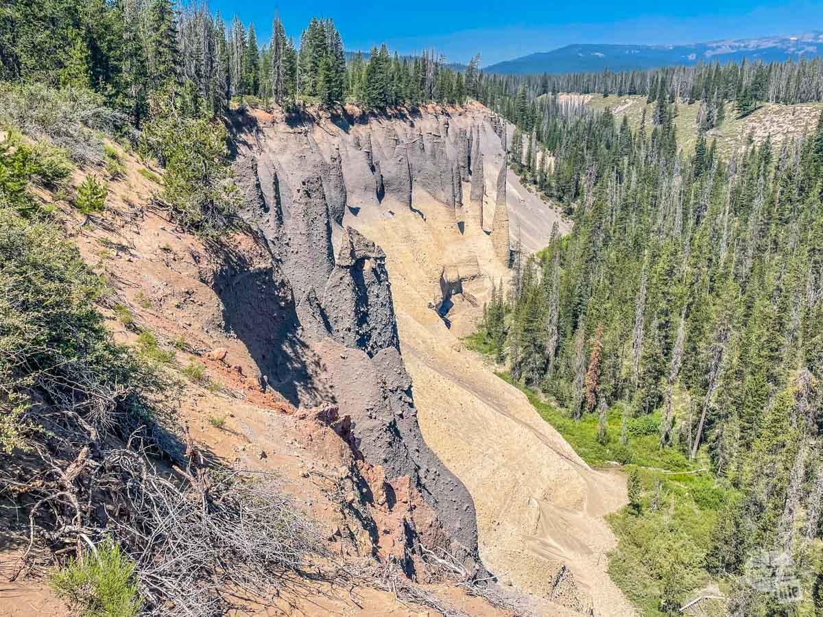 Pinnacles at Crater Lake NP