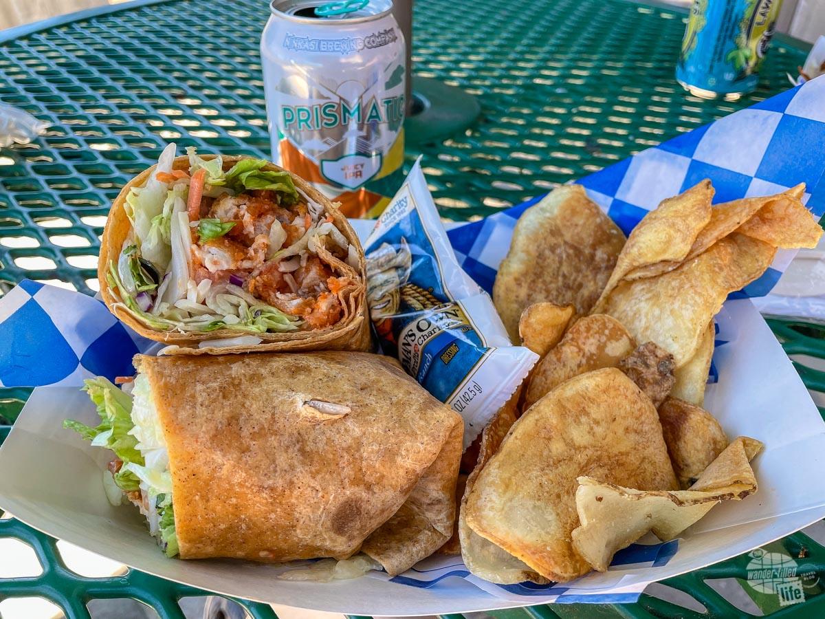 Annie Creek Restaurant at Crater Lake NP.