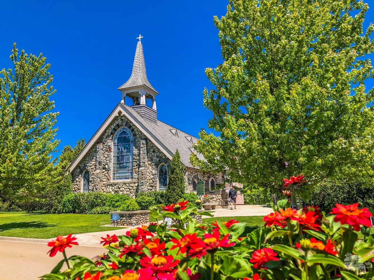 Little Stone Church on Mackinac Island